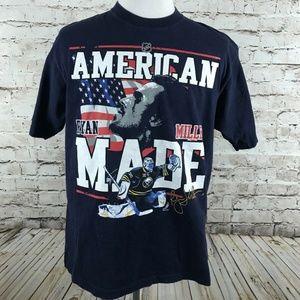 Ryan Miller Buffalo Sabres USA Hockey T-Shirt
